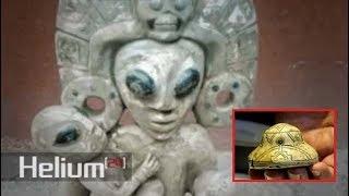 Las misteriosas piedras de Aztlán describen la visita extraterrestre hace miles de años