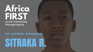 """Sitraka Raharimanatoanina, F, 6'8"""" 2001 born of Madagascar"""