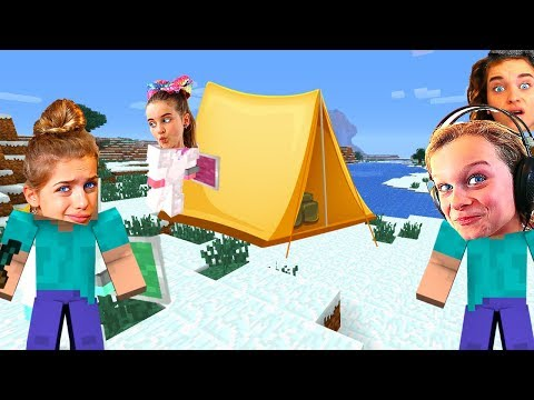 SOCKIE CAUGHT STEALING CAMPING in SURVIVAL Minecraft w The Norris Nuts
