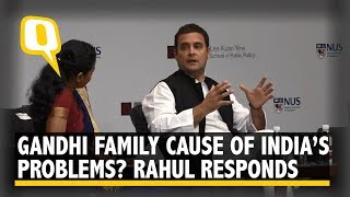 Is Nehru-Gandhi Family Responsible for India