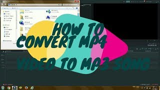 How to convert MP4 video to MP3 song very easy