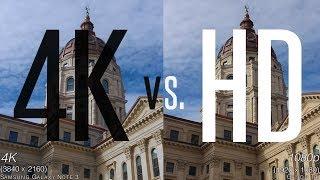 4K VS  HD: Side By Side Comparisons