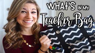 What's In My Teacher Bag | That Teacher Life Ep 19