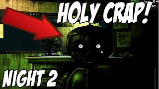 BALLOON BOY ATTACKS!! | Five Nights At Freddys 3 | Gameplay Walkthrough Part 2 Night 2 Complete