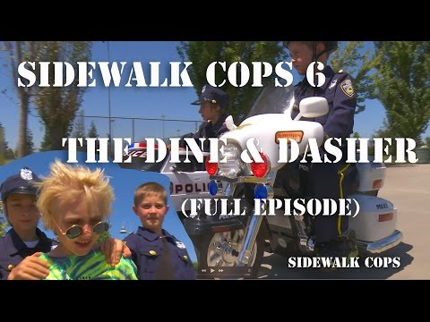 Sidewalk Cops Episode 6 The Dine and Dasher Full Episode Uncut