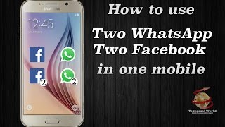 [Hindi] How To Use (2) Two WhatsApp Facebook Messenger Instagram On One Android Phone Without Root