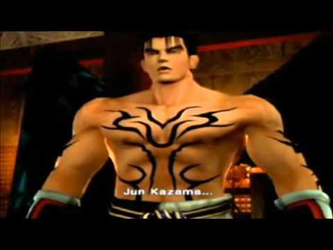 Tekken Jin Kazama endings