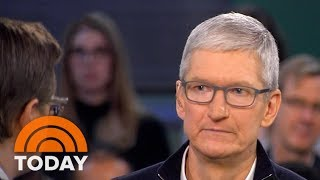 Apple CEO Tim Cook Criticizes Facebook Over User Privacy Controversy | TODAY