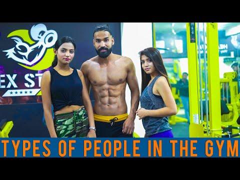 Types Of People In Gym Boys vs Girls Sanju Sehrawat Make A Change