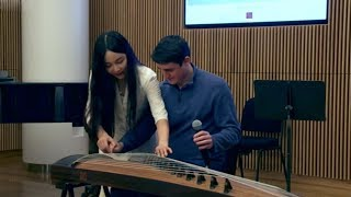 Chinese GuZheng soloists bring cultures together with traditional Chinese music in New York.