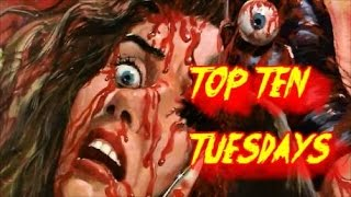 Top Ten Tuesday Ep: 98- Most Ridiculous Horror Villains/Killers