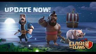 Clash of Clans HUGE UPDATE GAMEPLAY