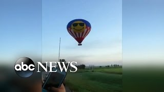 Deadly Hot Air Balloon Accident Video