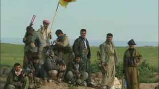 Kurdish Peshmerga Army during invasion of Iraq in 2003