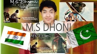 PAKISTANI REACT TO M.S.Dhoni The Untold Story Official Trailer Sushant Singh Rajput Neeraj Pandey