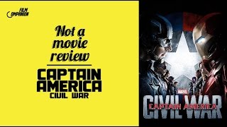 Captain America: Civil War | Not A Movie Review | Sucharita Tyagi | Film Companion