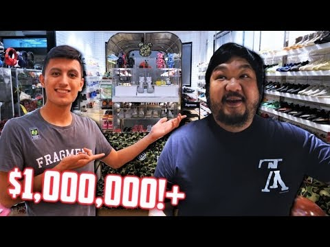 MOST EXPENSIVE SNEAKER and HYPEBEAST COLLECTION DJ BIGBOY CHENG 1 000 000 COLLECTION