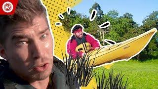 World Record   Land Kayak Race