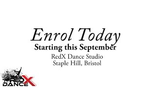 REDX DANCE BRISTOL - ENROLLING NOW!