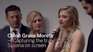 CHLOE GRACE MORETZ Capturing the true Susana on screen | TIFF 2016