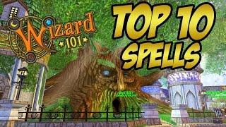 Wizard101: My Top 10 Favorite Looking Spells!