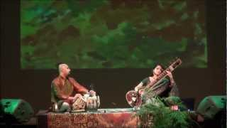 Alif Laila,Raag Hameer, sitar concert hosted by World Artists Experiences, Annapolis MD Sept.'12