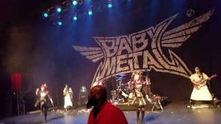 Babymetal - GJ! @ Fillmore Detroit 5/11/2016 (Feat. Bob Sapp as Bodyguard)