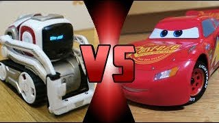 ROBOT DEATH BATTLE! - Cozmo VS Ultimate Lightning McQueen