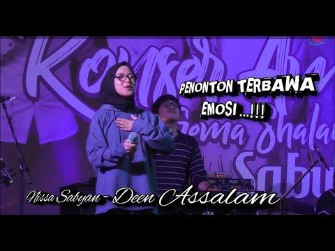 Nissa sabyan - Deen Assalam di lanjut ya maulana terbaru live Kebumen