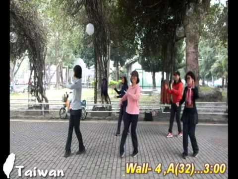 Gemu Fa Mi Re - Line Dance Tina Chen Sue-Huei Reference
