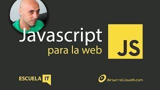 Javascript en la web - Curso de Javascript 1