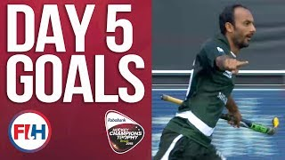 Day 5 ALL THE GOALS! | 2018 Men's Hockey Champions Trophy