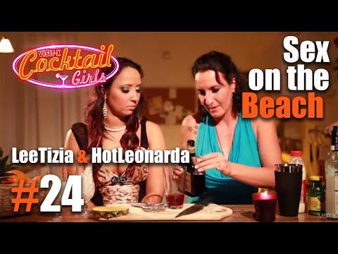 Xxx Mp4 24 LeeTizia Und HotLeonarda Mixen Sex On The Beach 3gp Sex