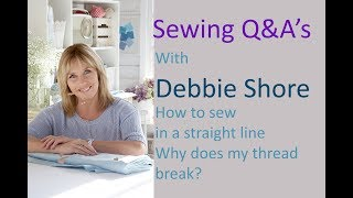 Sewing Q&A with Debbie Shore