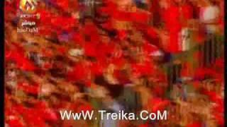 هدف فلافيو في المباراة الفاصلة بين الاهلي والاسماعيلي