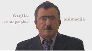 Srećko Šojić - Svi ste potplaćeni - animacija