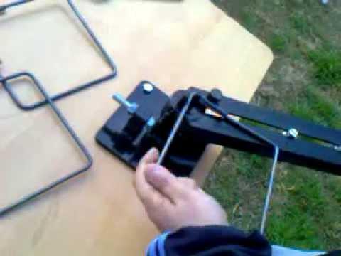 Dobladora Manual Estribos Cordoba Argentina Doblar hierro de Construccion Maquina