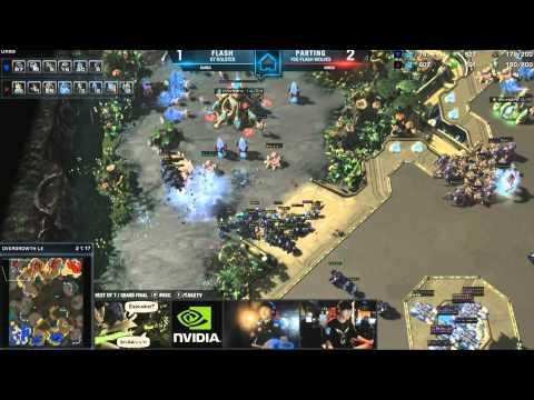 HomeStory Cup X SC2 - Grand Finals - Parting vs Flash