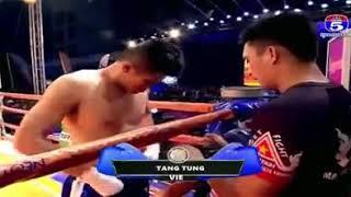 Long Sophy vs Than Tung (Vietnam) kun Khmer boxing 30/12/2018