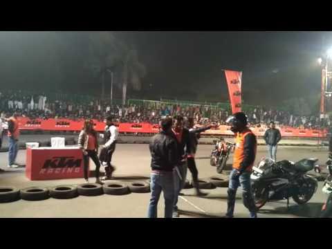KTM ORANGE DAY NEW DELHI OKHLA   KTM RC200 FINAL RACE  S RYDER 18