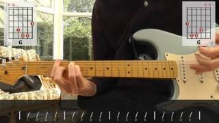 Creedence Clearwater Revival - Fortunate Son guitar lesson