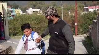 Indian school student funny video after holidays. .