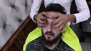 ASMR Pakistani Barber Face,Head and Body Massage 16