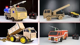 4 Amazing Rc Trucks you can Do at home - Diy Remote Control Toys