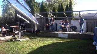 Backyard Stage Fall Jams (The Show Must Go On While The Weather Permits)