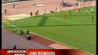 Uwe Reinders - Einwurftor Werder Bremen Gegen Bayern 1982