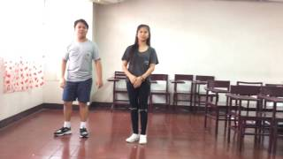 Cake By The Ocean - DNCE (Dance Tutorial/ Cover) by: Krista Santos and Alfonso Bico