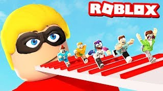 ESCAPING THE INCREDIBLES 2 IN ROBLOX! (Roblox Roleplay)
