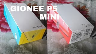 GIONEE P5 MINI UNBOXING REVIEW & FEATURES
