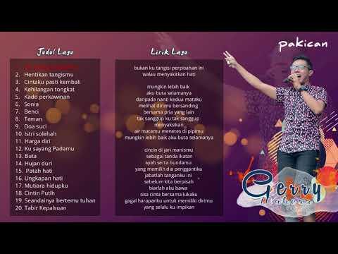 3 Jam Non Stop Kompilasi 2018 Lagu Terbaru Dan Terbaik Gerry Mahesa Lirik
